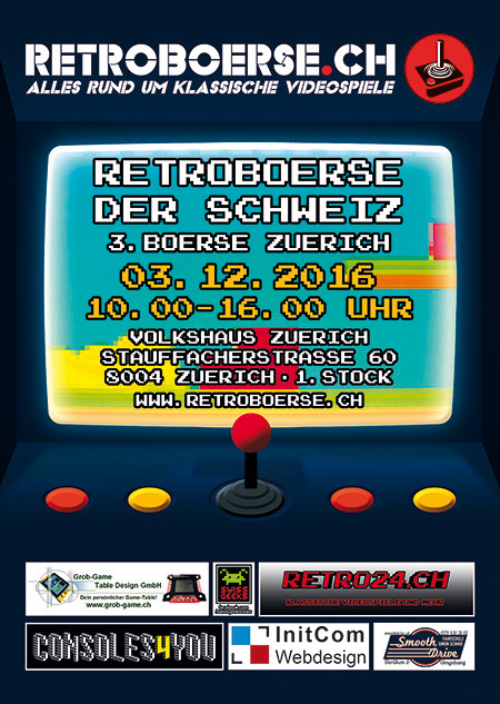 Retroboerse Flyer 2016 Zürich